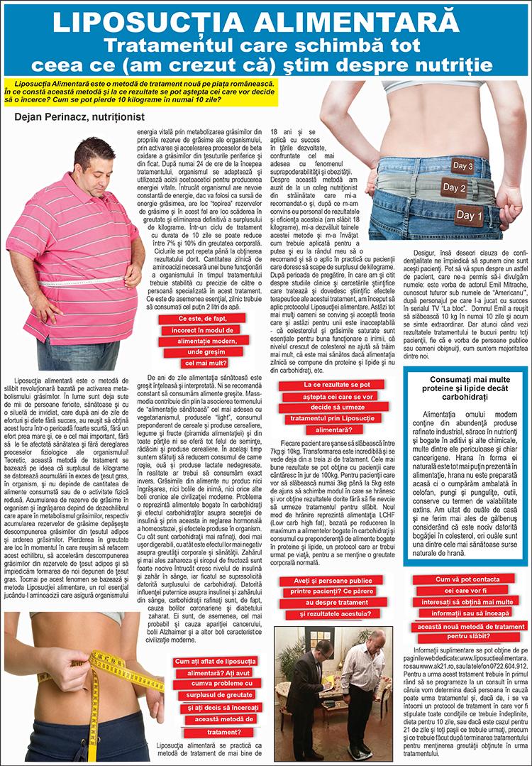 Liposuctie alimentara – Click